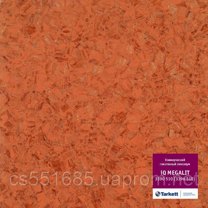 3390 510 (3396 510) - линолеум коммерческий гомогенный 34 кл, коллекция IQ Megalit (Мегалит) Tarkett (Таркетт)