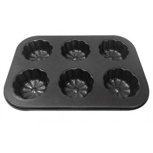 Тефлоновая форма для кексов арт. 850-6A1805