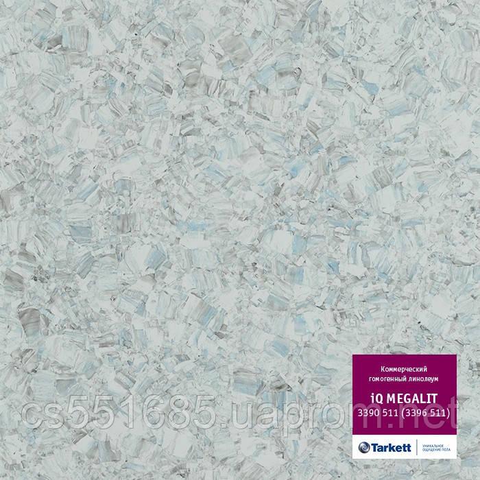 3390 511 (3396 511) - линолеум коммерческий гомогенный 34 кл, коллекция IQ Megalit (Мегалит) Tarkett (Таркетт)