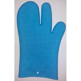 Силіконова рукавиця 830-33-2 (синя)