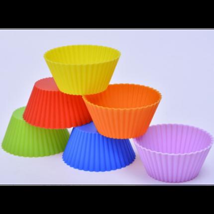 """Набор силиконовых форм для выпечки кексов """"Корзинка"""" YH-30 арт. 822-15A-2, фото 2"""