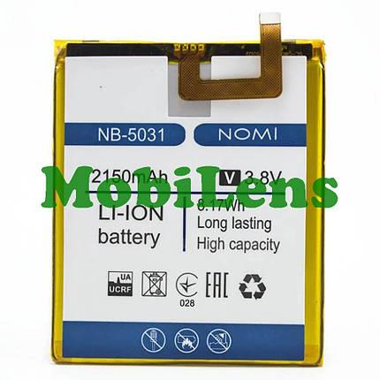 Nomi i5031, Evo X1, NB-5031 Аккумулятор, фото 2
