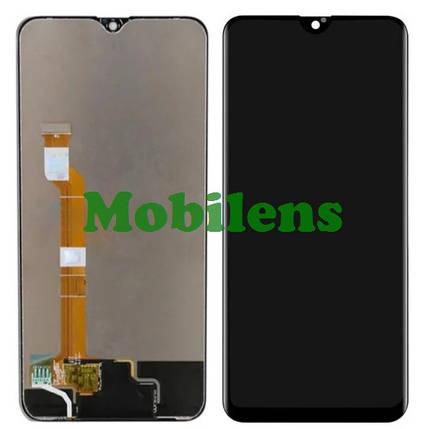 Oppo A7X, Oppo F9 Дисплей+тачскрин(модуль) черный, фото 2