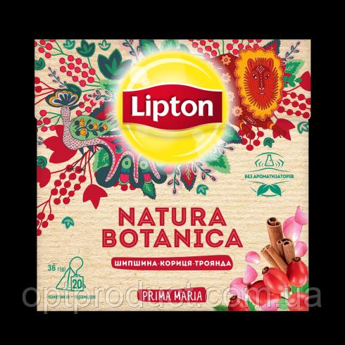 """Чай """"Lipton"""" пирамидка (шиповник, корица, роза) 20 пакетов"""