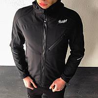 Мужская куртка Round Pobedov (черная)