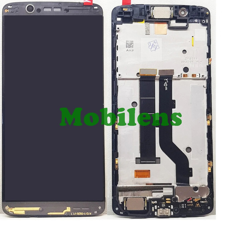 ZTE Axon 7 mini Дисплей+тачскрин(модуль) черный *в рамке