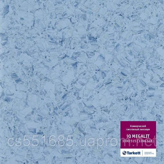3390 515 (3396 515) - линолеум коммерческий гомогенный 34 кл, коллекция IQ Megalit (Мегалит) Tarkett (Таркетт)