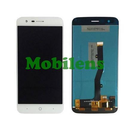 ZTE V8 Lite, Blade V8 Lite, V0820 Дисплей+тачскрин(модуль) белый, фото 2