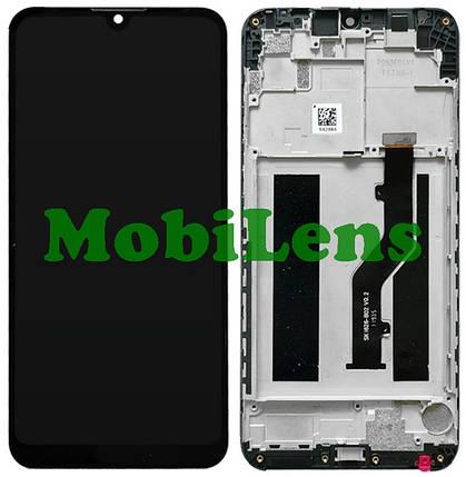 ZTE V10 Vita, Blade V10 Vita Дисплей+тачскрін(модуль) чорний *в рамці Original *PRC, фото 2