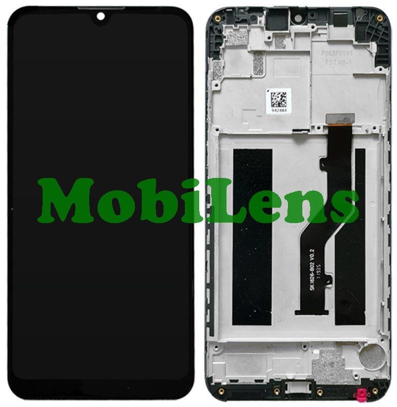 ZTE V10 Vita, Blade V10 Vita Дисплей+тачскрін(модуль) чорний *в рамці Original *PRC