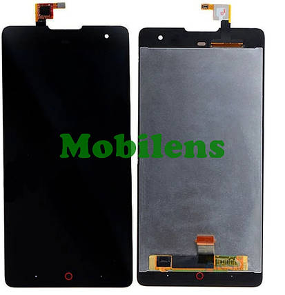ZTE Z7 Max, Nubia Z7 Max, NX505J Дисплей+тачскрін(модуль) чорний, фото 2