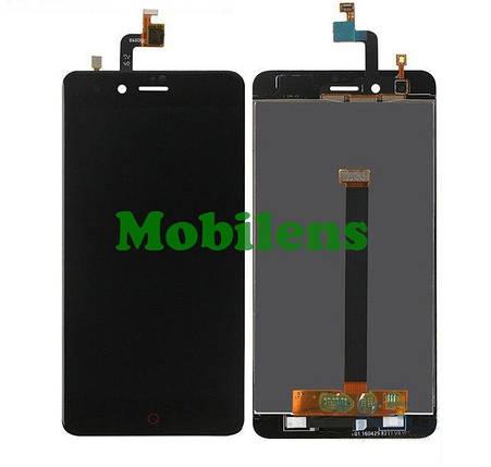 ZTE Z11 mini, Nubia Z11 mini, NX529J Дисплей+тачскрин(модуль) черный, фото 2