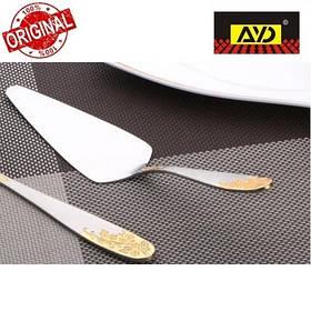 """Лопатка для торта """"Золотая ветка"""" AYD (нержавеющая сталь, 6 шт. в упаковке), арт.162510"""