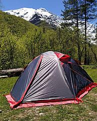 Намет 2-х місний двошаровий туристичний непромокаючий Tramp Peak TRT-025.