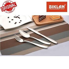 """Ніж столовий """"Гладь"""" BIKLAN (нержавіюча сталь, 6 шт. в упаковці), арт. 304104"""