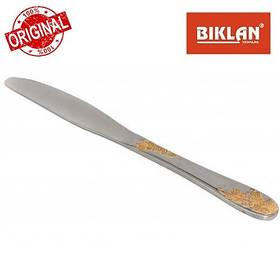 """Ніж столовий """"Золота гілка"""" BIKLAN (полірована нержавіюча сталь, 6 шт. в упаковці), арт. 164104"""