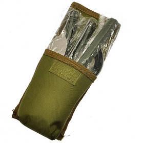 Походный столовый набор (ложка, вилка, нож) 106 арт. 830-1А-4