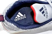 Літні кросівки Adidas чоловічі сірі (Адідас), фото 3