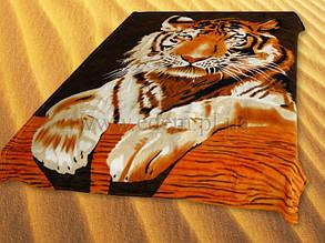Мікрофібра ELWAY1.5-я Тигр коричневий