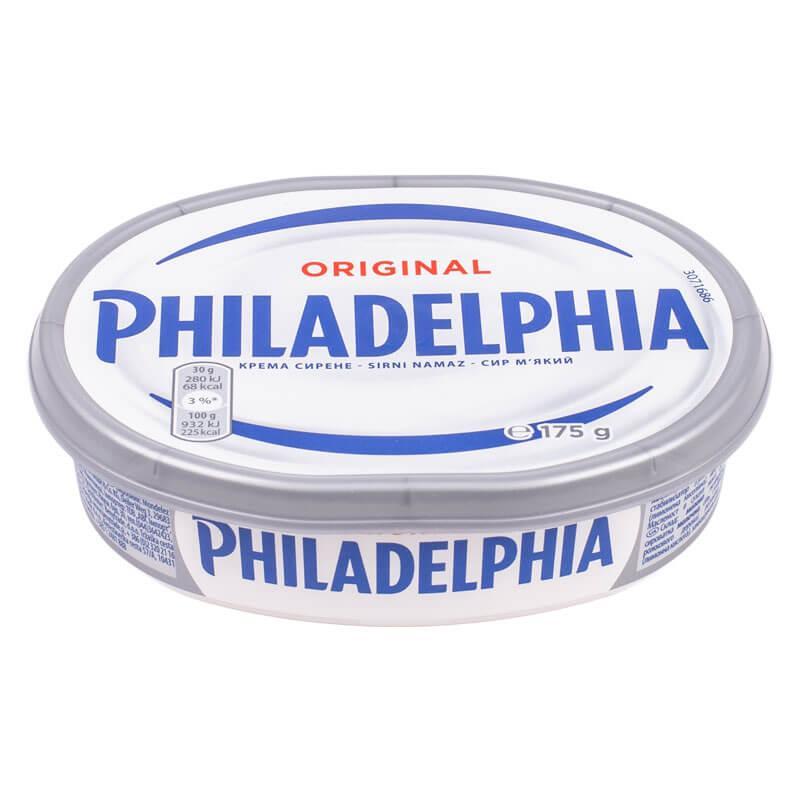 Сир м'який Philadelphia Original 175г, 10шт/ящ