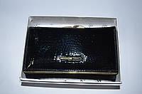 Женский кожаный кошелек   DR.BOND WS-11  черный