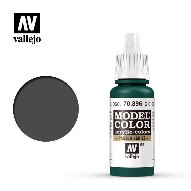 Vallejo Model Color Ger. C. Extra Dark Green