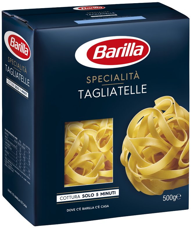Макарони BARILLA SPECIALITA, Tagliatelle без яйця, 500г, 12шт/ящ