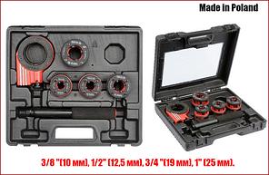 Набор клуппов  для нарезки резьбы Yato YT-29001