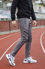 Чоловічі зимові штани Soft Shell 'San Andreas' Pobedov (чорно-коричневі), фото 3