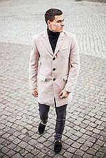 Мужское пальто BATYA Pobedov (бежевое), фото 2