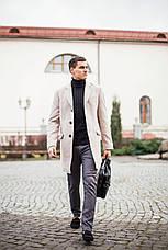 Мужское пальто BATYA Pobedov (бежевое), фото 3