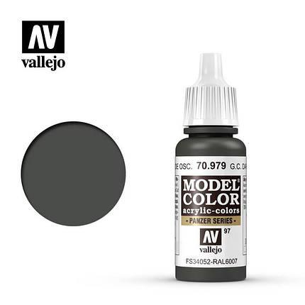 Vallejo Model Color German Cam. Dark Green, фото 2
