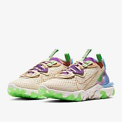 Женские кроссовки Nike React Vision Running / текстильные кроссовки Найк Реакт(Топ реплика ААА+)