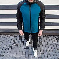 Мужская куртка Valeriyskaya stal' Pobedov (черно-синяя)