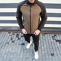 Мужская куртка Valeriyskaya stal' Pobedov (хаки-черная)