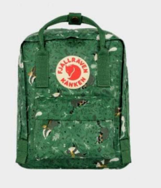 Рюкзак  Fjallraven ART  Kanken Bag Mini 8 литров  Топ качество Зеленый