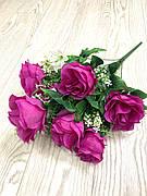 Искусственная Роза с жасмином ( 57 см )