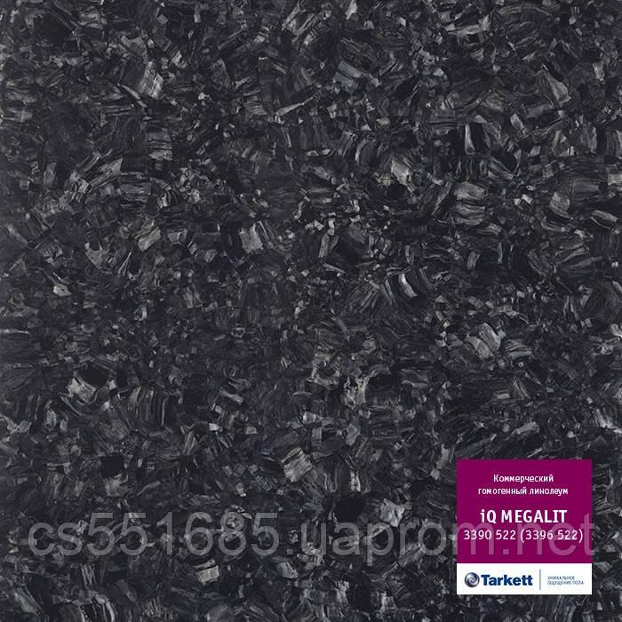 3390 522 (3396 522) - линолеум коммерческий гомогенный 34 кл, коллекция IQ Megalit (Мегалит) Tarkett (Таркетт)