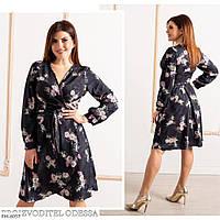 Красивое платье на запах больших размеров, фото 1