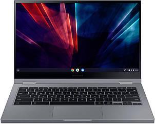 """Samsung - Galaxy Chromebook 2 - 13.3"""" QLED Touch-Screen - Intel Celeron - 4GB - XE530QDA-KB2US"""