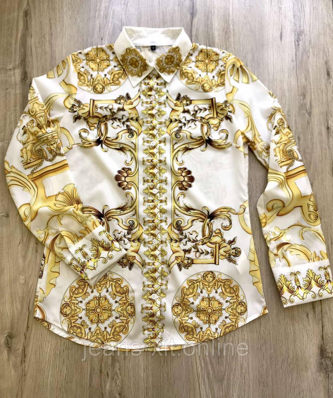 Рубашка женская L(р) белая 181150 Турция Весна-D
