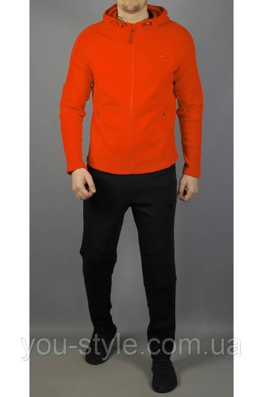 Мужской спортивный костюм Puma 5838 Оранжевый