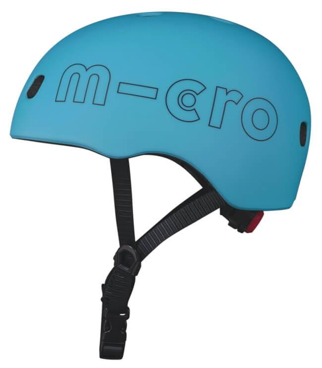 Шлем Micro Ocean Blue LED