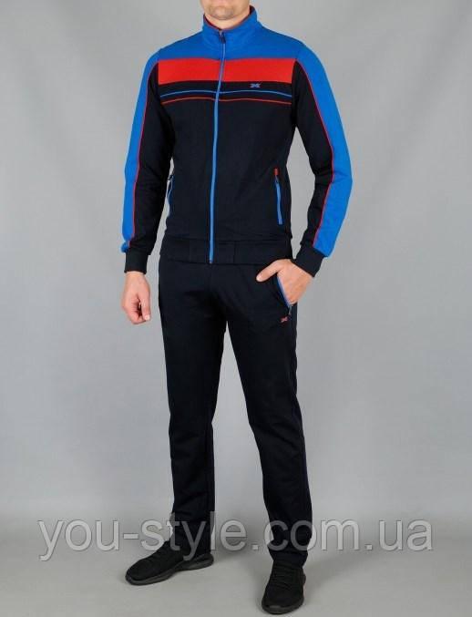 Чоловічий спортивний костюм МХС 5835 Темно-синій