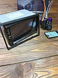 Автомагнітола 2din ПУЛЬТ НА КЕРМО bluetooth USB microSD AUX, фото 2