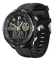 Смарт-часы Zeblaze VIBE 4 HYBRID водонепроницаемые с Bluetooth / режимом напоминаний / подсветкой Черный