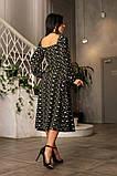 Весняне сукню з відкритим декольте 4 рацветки 50-674, фото 9