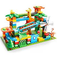 Развивающий конструктор Трек Лабиринт Feelo с ксилофоном Совместим с LEGO Duplo 171 деталь