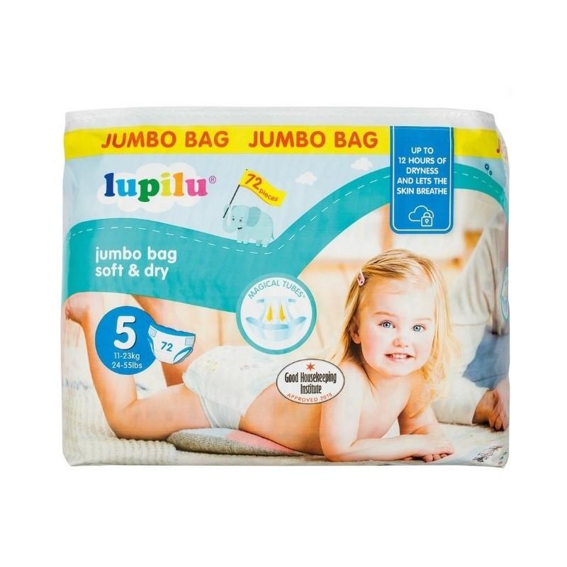 Подгузники Lupilu Soft & Dry №5 (11-23кг) 72 шт