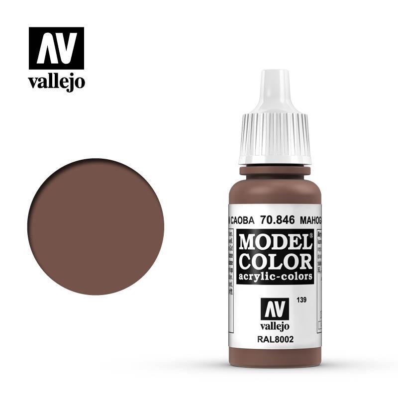 Vallejo Model Color Mahogany Brown